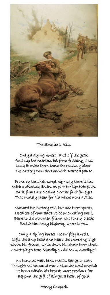 The Soldiers Kiss - Goodbye Old Man