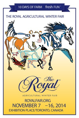 ROYAL AGRICULTURAL WINTER FAIR - Poster Contest Winner