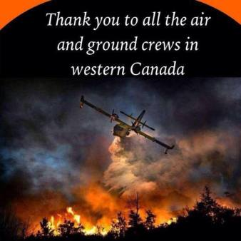 Thank you to the Ground  Crews