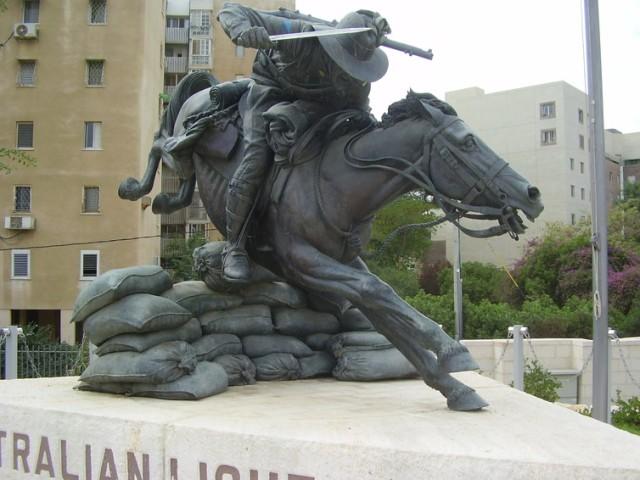 Australian Light Horse Monument in modern-day Beer-Sheva