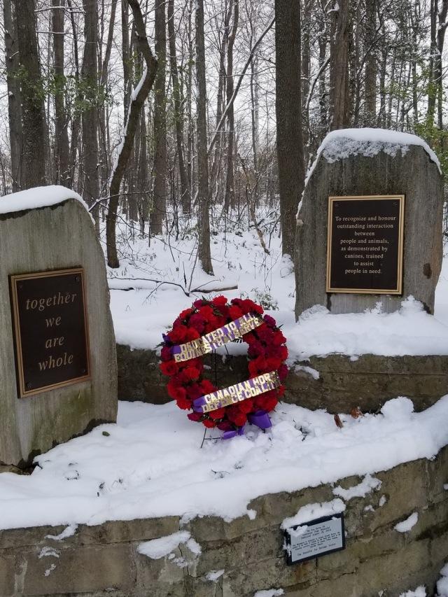 wreath at Beautiful Joe Park