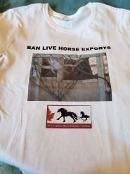 Ban Live Exports shirt